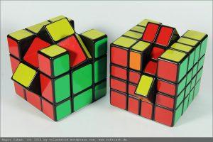 MixUp Cube 3x3x3 und 4x4x4
